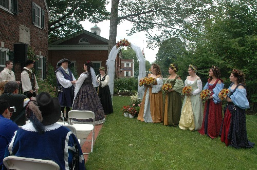 medieval style wedding